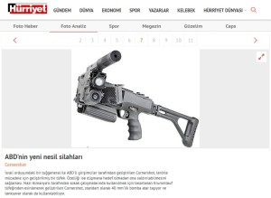 Hürriyet - New generation weapons of the US