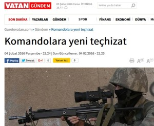 Vatan - New equipment for Commandos